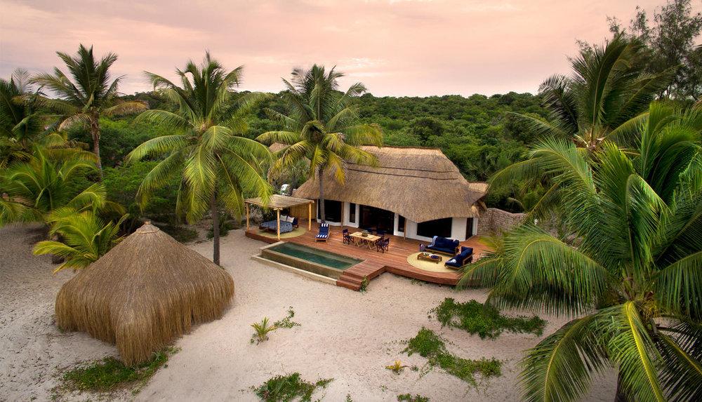 Voyage de noces Mozambique à la romantique - chambre à &Beyond Benguerra