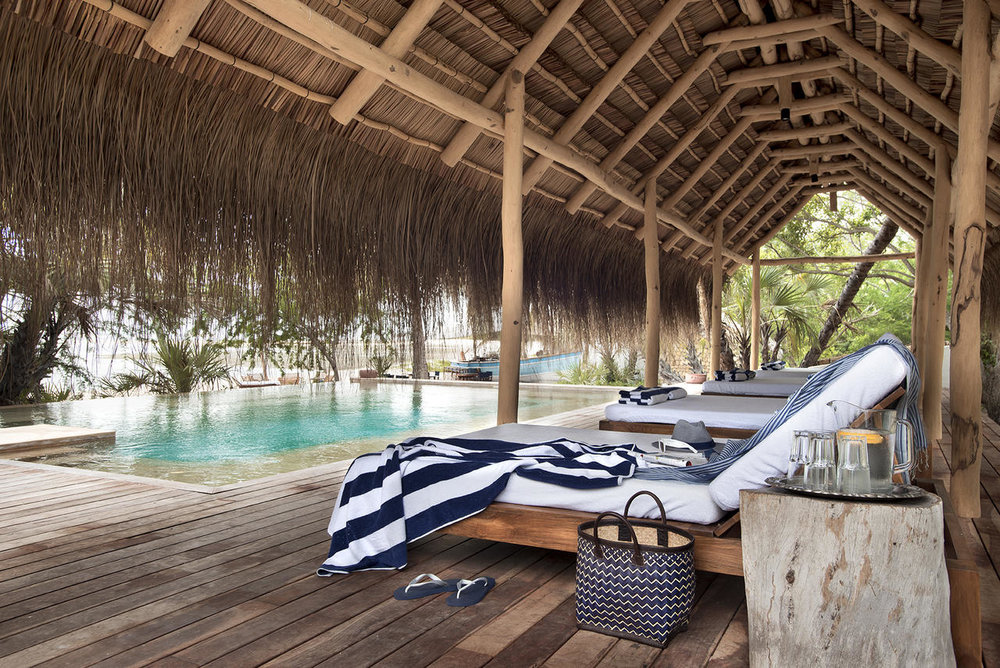 Voyage de noces Mozambique à la romantique - piscine du &Beyond Benguerra