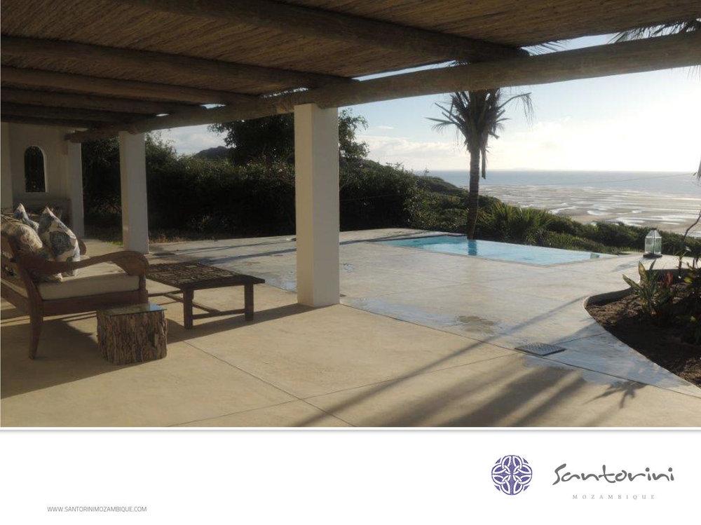 Voyage de noces Mozambique à la romantique - vue du Santorini Mozambique
