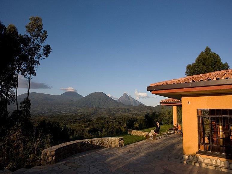 Safari Rwanda, Kenya et Seychelles - vue du Sabyinyo Silverback Lodge