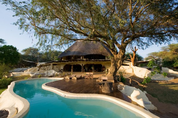 Piscine de la Chongwe River House