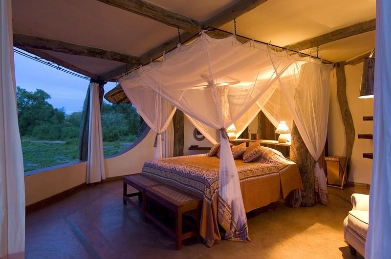 Chambre de la Luangwa Safari House