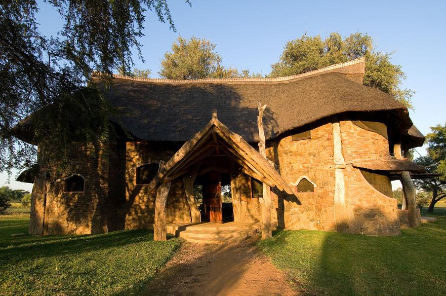 Entrée de la Luangwa Safari House