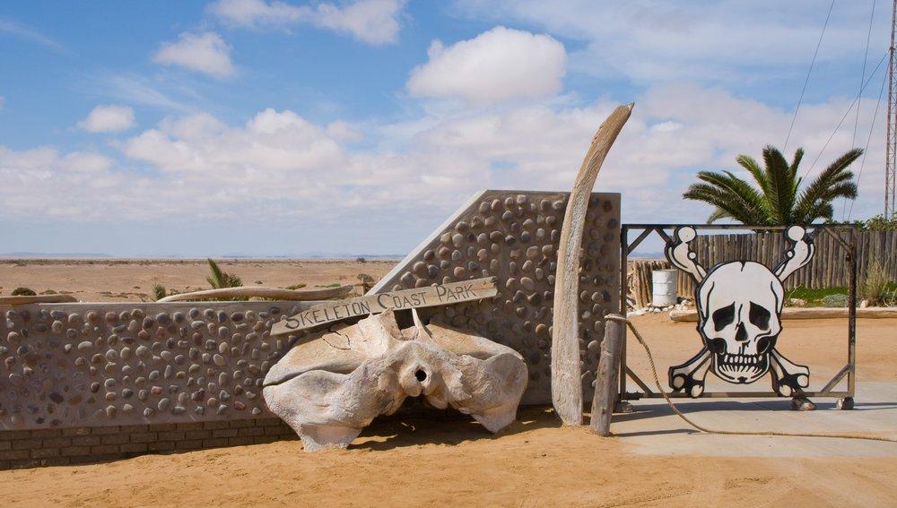 Centre de la Namibie - Le Parc National de la Côte des Squelettes