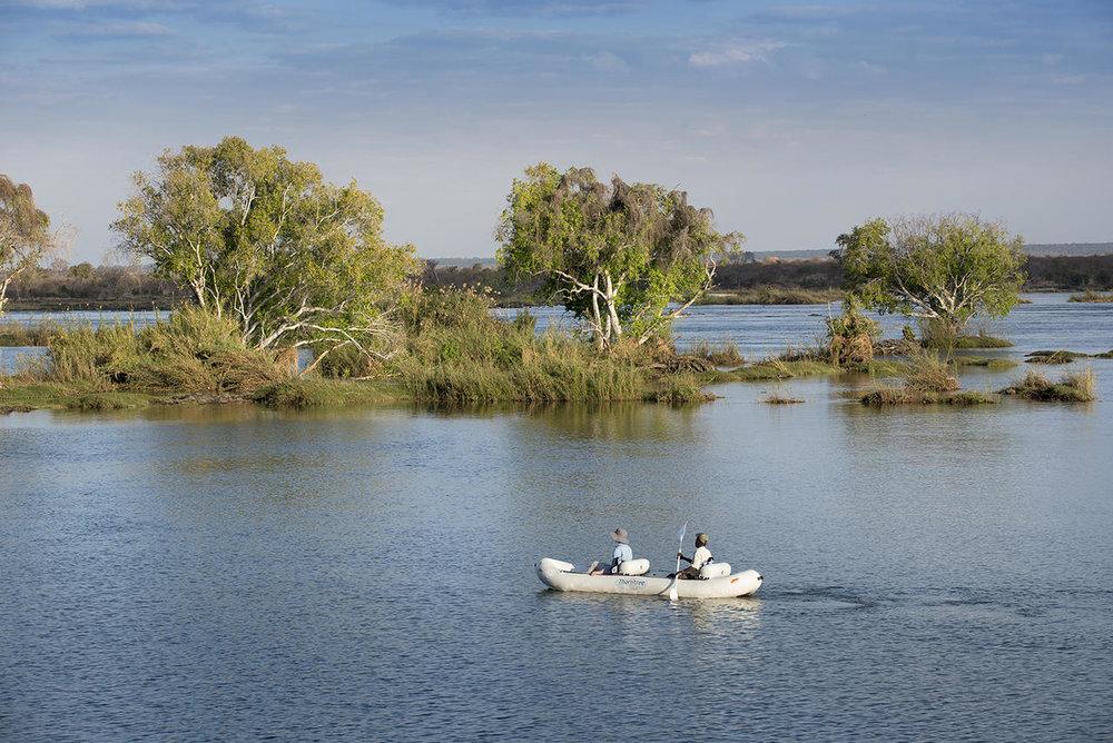 Canoë au Thorntree River lodge