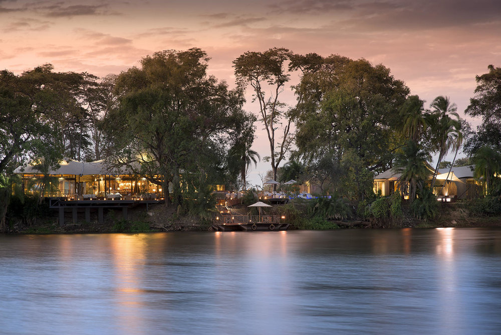 Vue du Thorntree River lodge