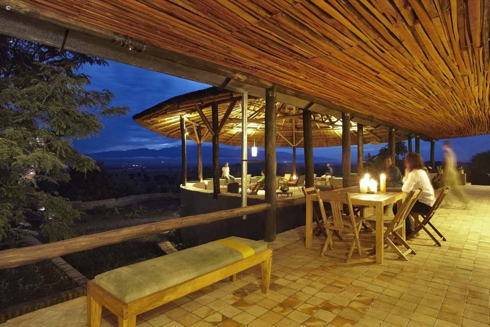 Kyambura Gorge lodge de nuit