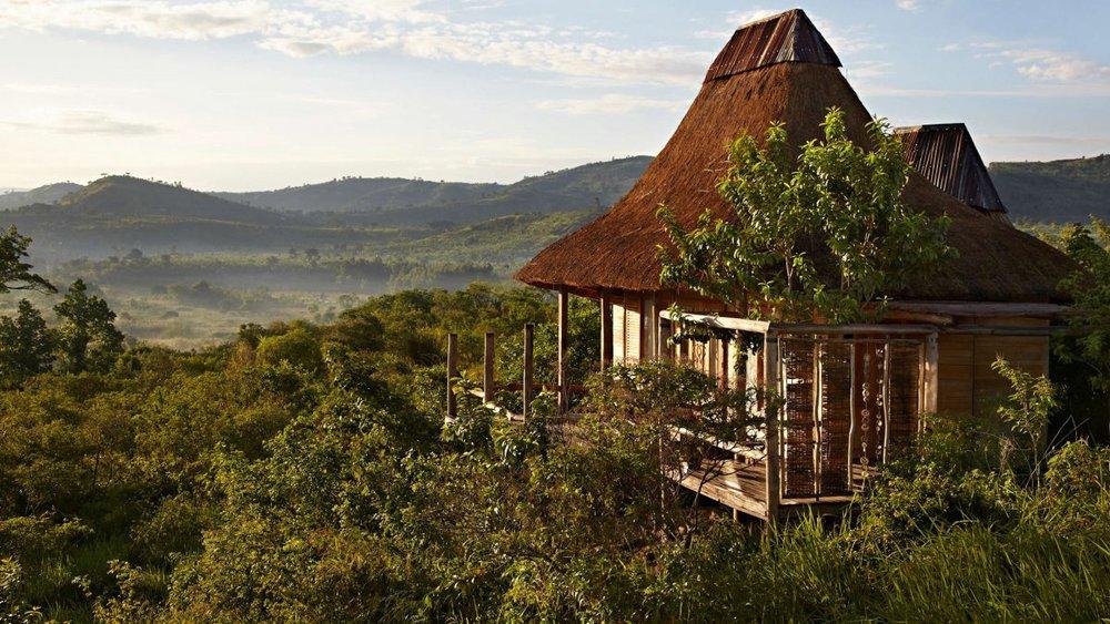 Vue depuis le Kyambura Gorge lodge