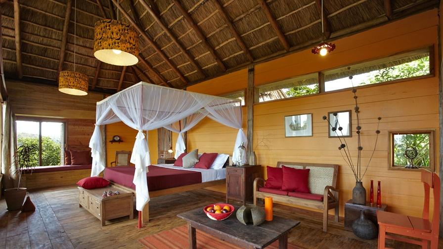 Chambre du Kyambura Gorge lodge