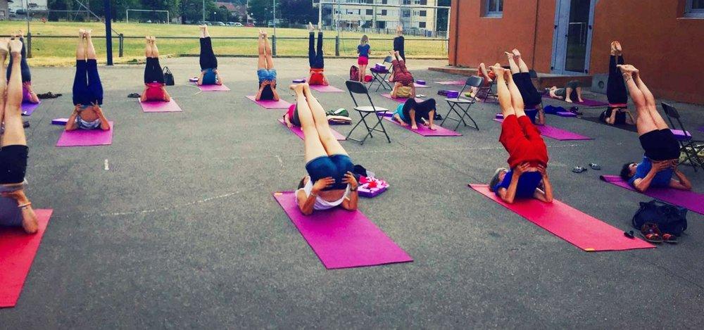 Yoga à Châbons - 27 juin 2016