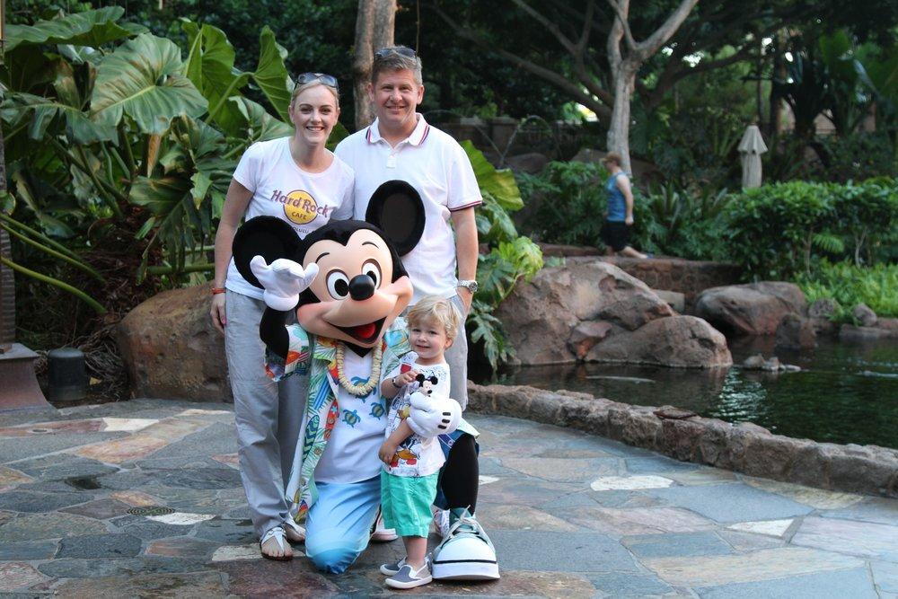 Aulani Mickey Mouse
