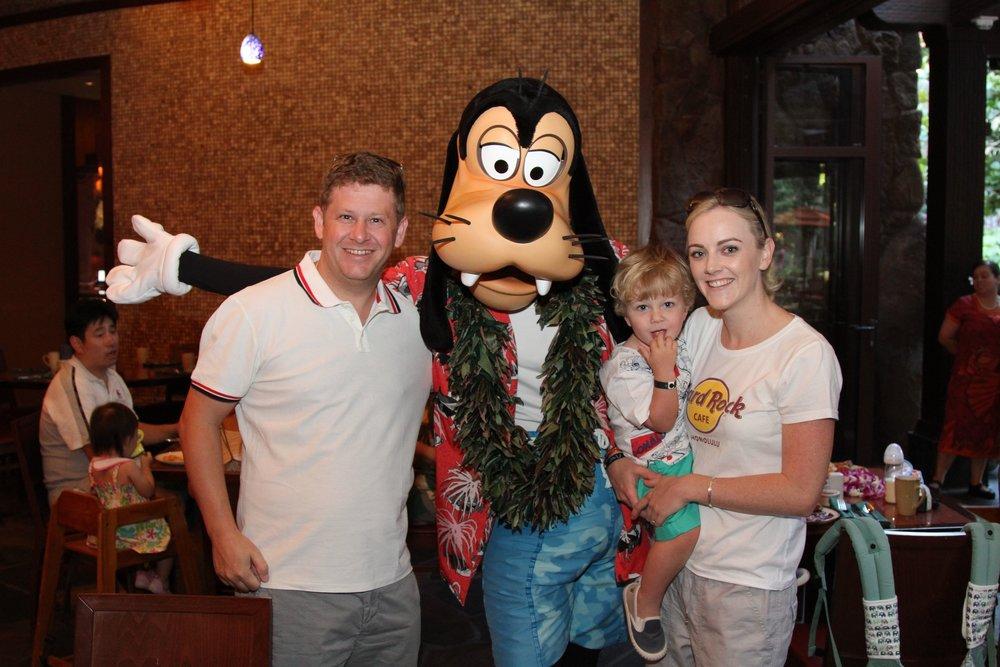 Goofy Disney Aulani Hawaii