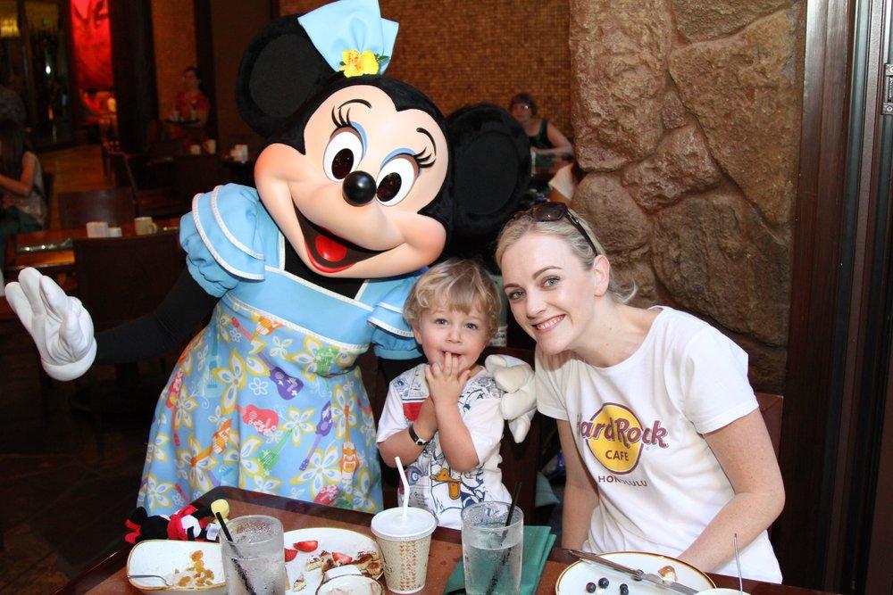 Mini Mouse Disney Aulani Hawaii
