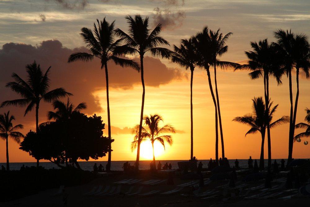 Sunsets at Aulani, A Disney Resort and Spa,Hawaii