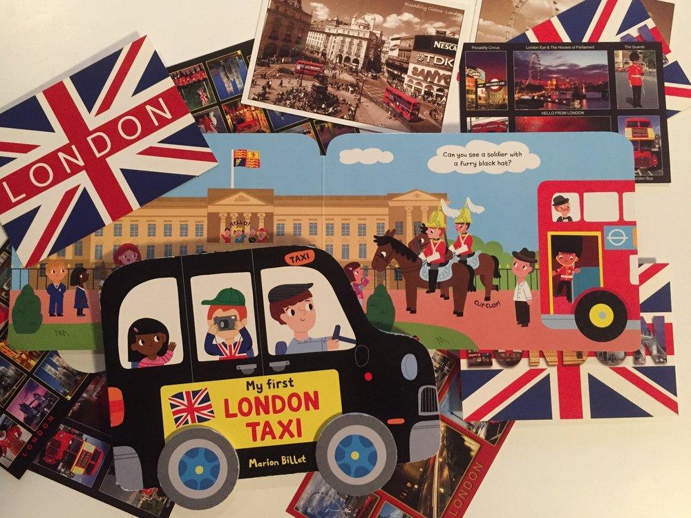 London Taxi London bus books