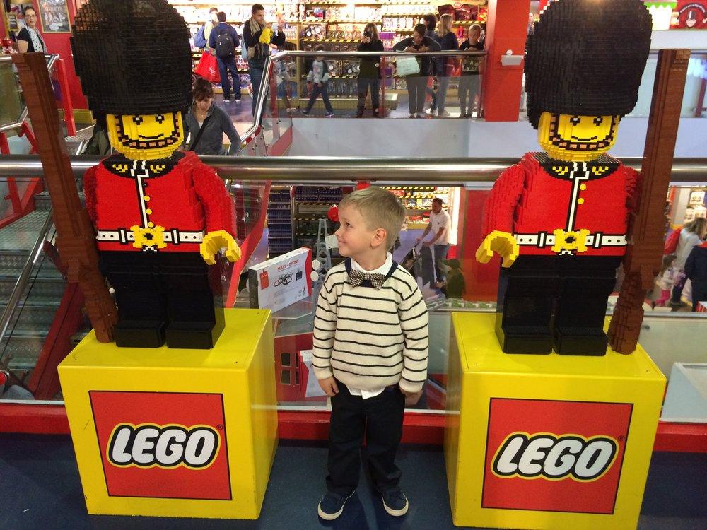 Hamleys toy store london lego