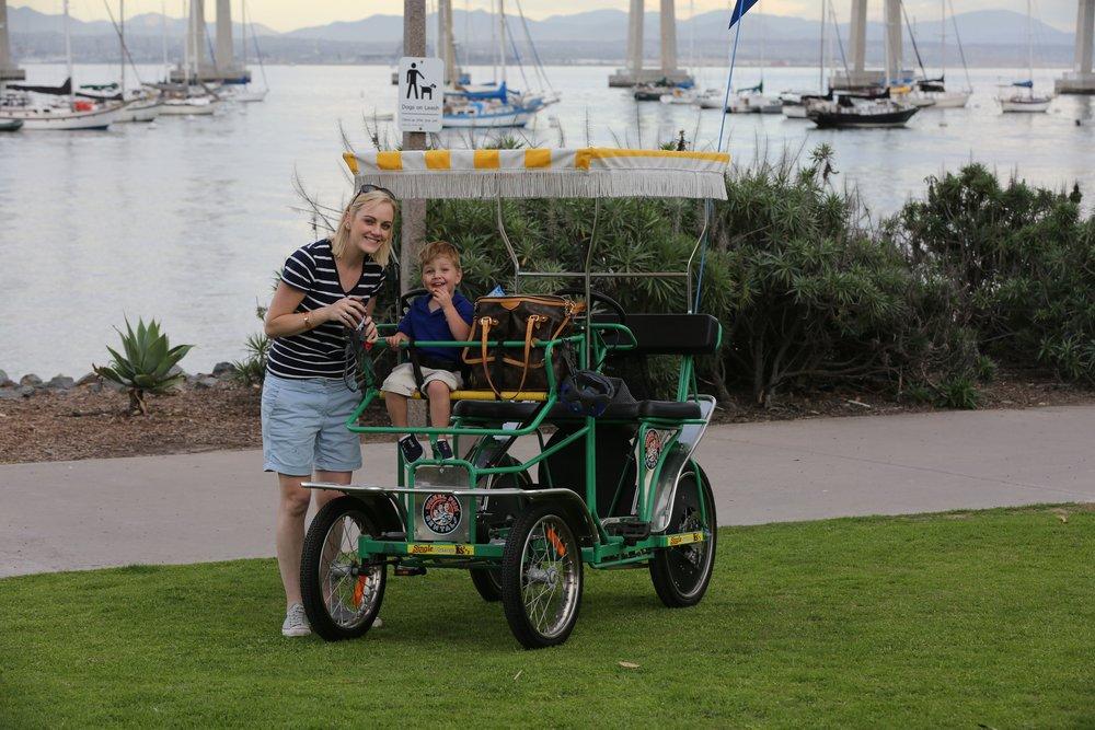Coronado Wheel Fun Surry hire