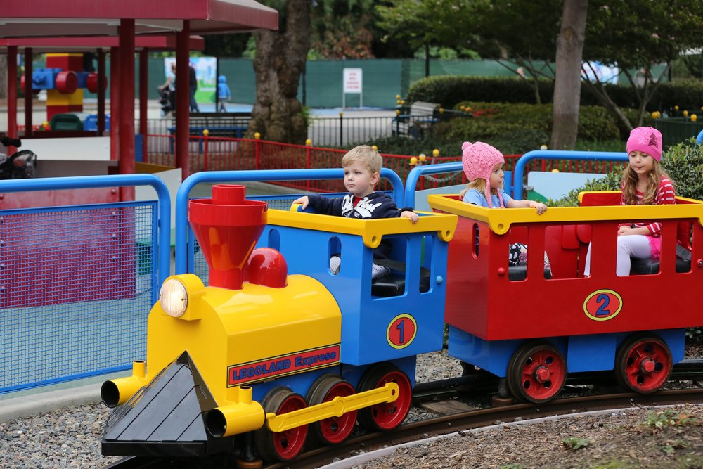 Legoland California Train ride