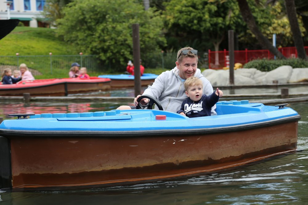 Legoland Caliornia Boat ride