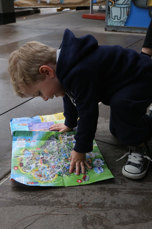 Legoland California Map