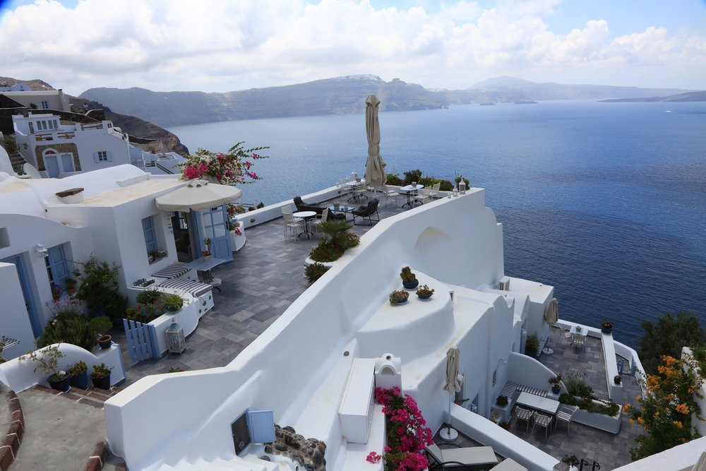 Aris Caves Santorini hotel review- aris caves, santorini greece — family luxury travels