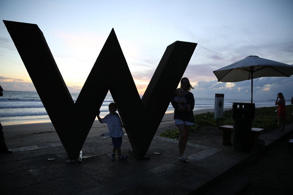 Sunsets at the W Bali Seminyak