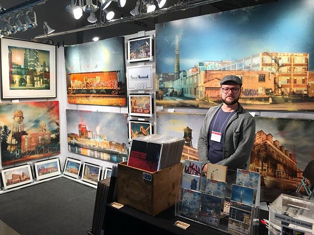 Spotted another @timeraiser artist @pascalnormand find him at the #oneofakindshowtoronto booth J-07