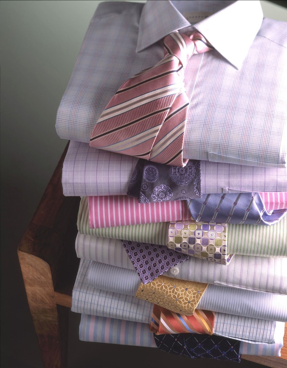 Bloomingdale's: Dress Shirt Stack