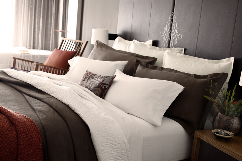 Avia Hotel - Napa Valley, CA: Bed Styling/Room