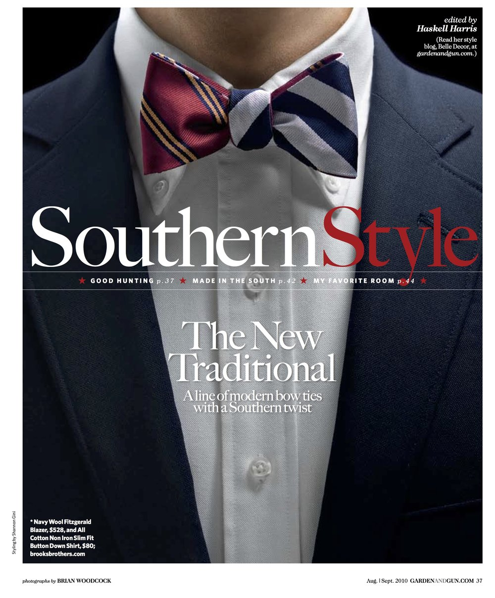Garden & Gun Magazine - Southern Style: Fashion Styling