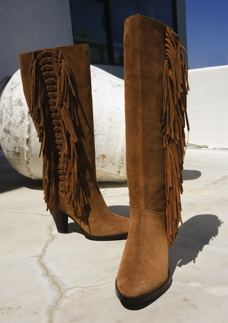 Macy's: Suede Fringe Boots