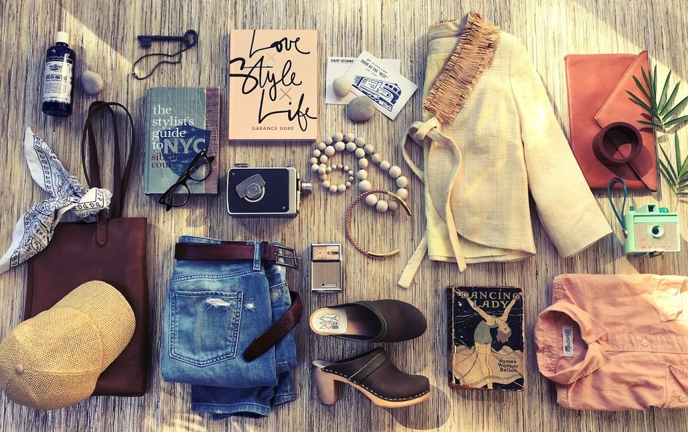 Love, Style, Life - Flat Lay