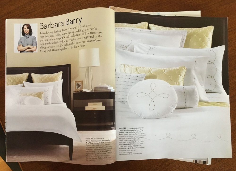 Elle Decor Magazine/Bloomingdale's: Barbara Barry Home