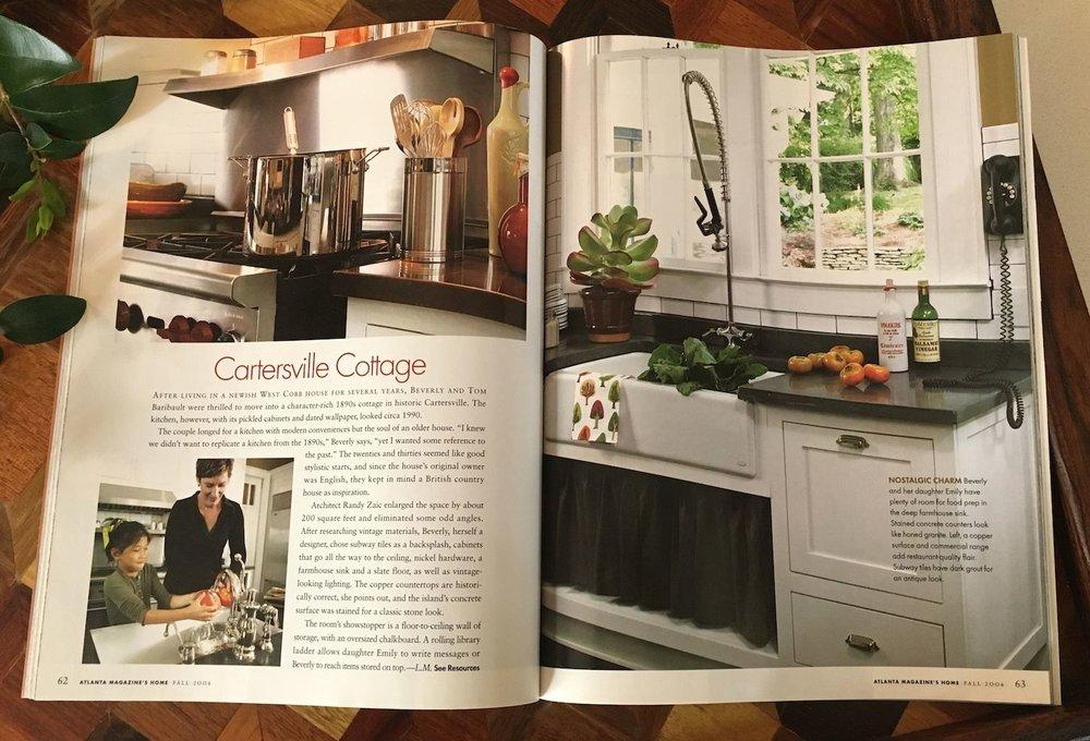 Atlanta Magazine Home: Prop Styling