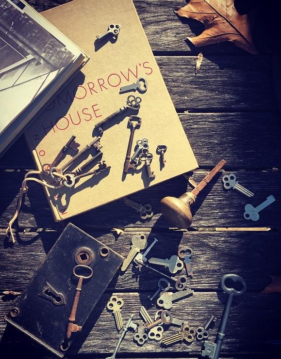 Vintage Keys Still Life