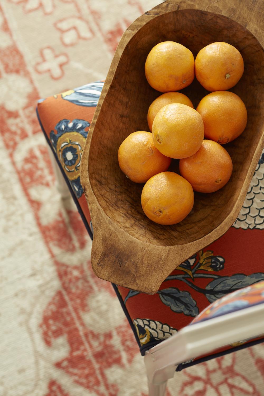 Oranges/Wooden Bowl