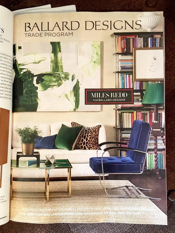 Ballard Designs: Collaboration with Miles Redd