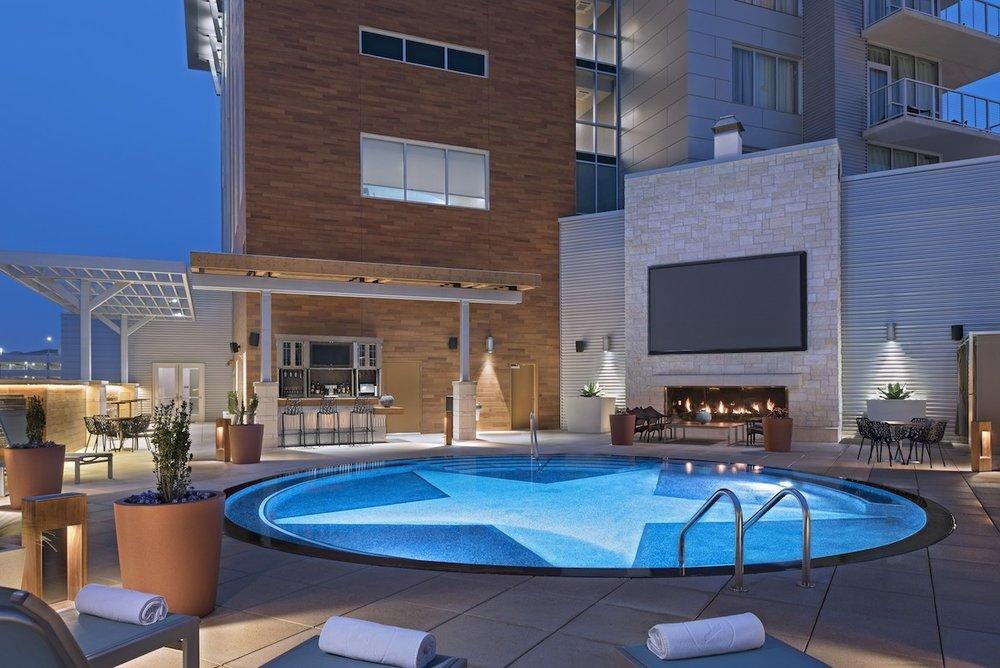 Archer Hotel - Austin, TX: Pool Area