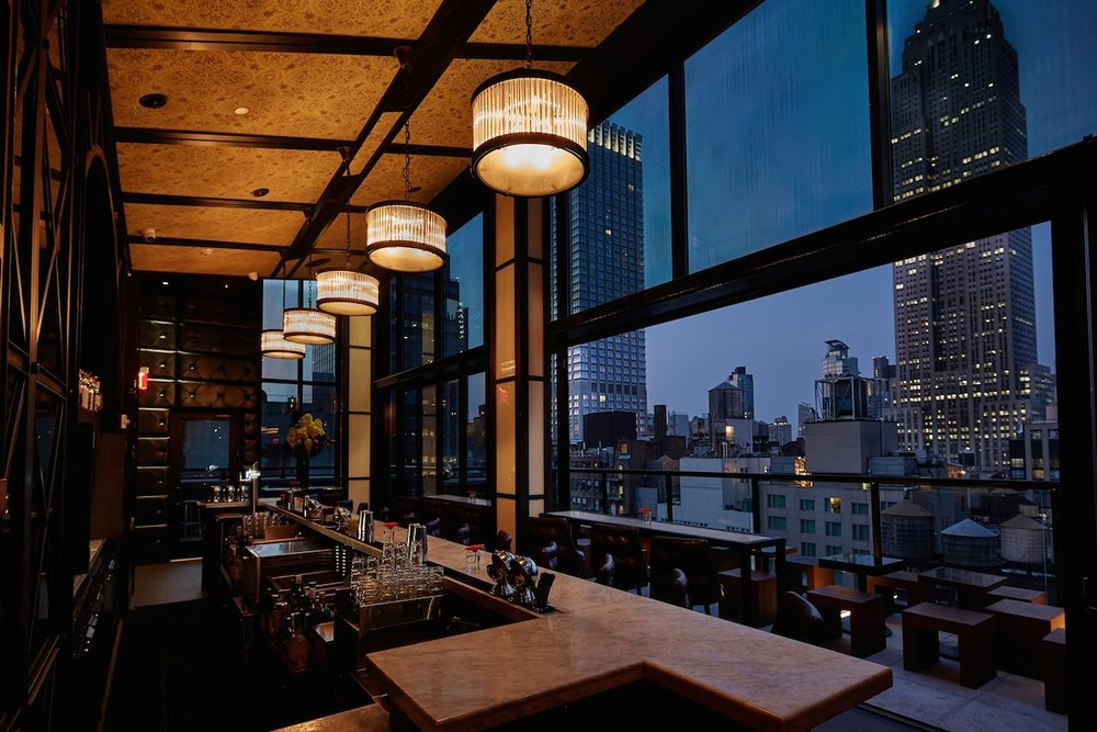 Spyglass Rooftop Bar Archer Hotel - New York, NY