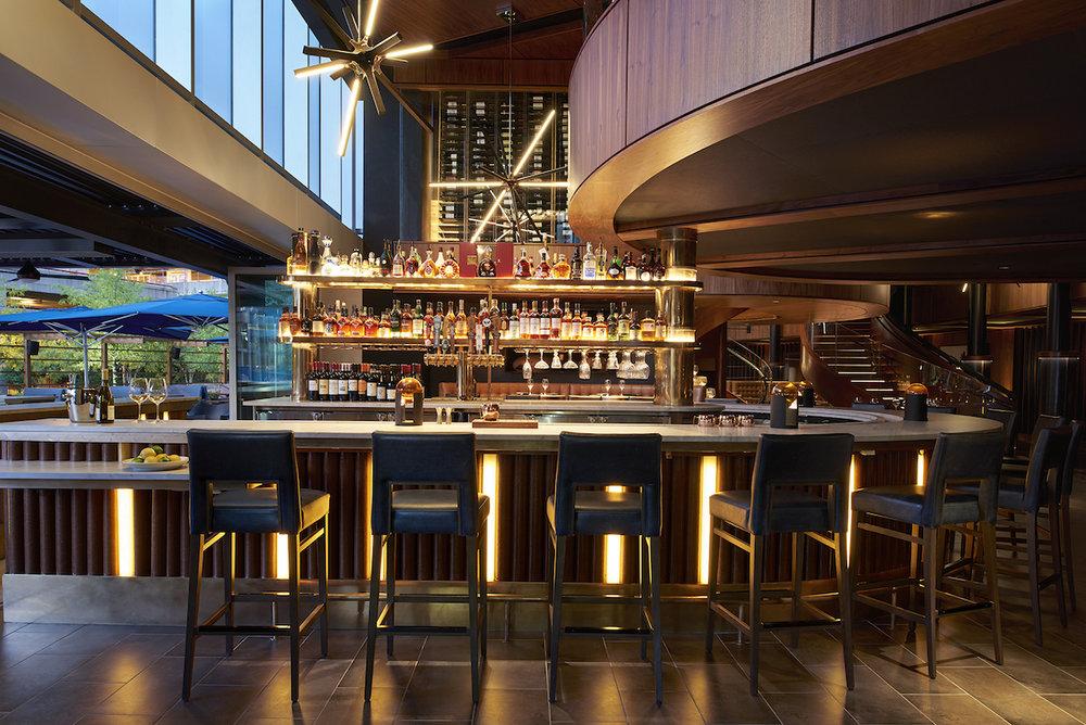 Del Frisco's Restaurant - Atlanta, GA: Downstairs Bar