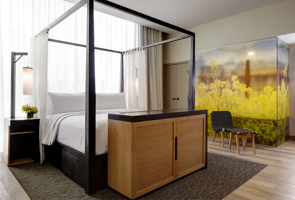 Archer Hotel - Napa, CA: Bed Styling