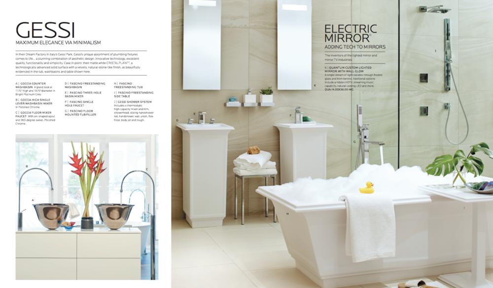 PIRCH - Bath Showroom: Prop Styling