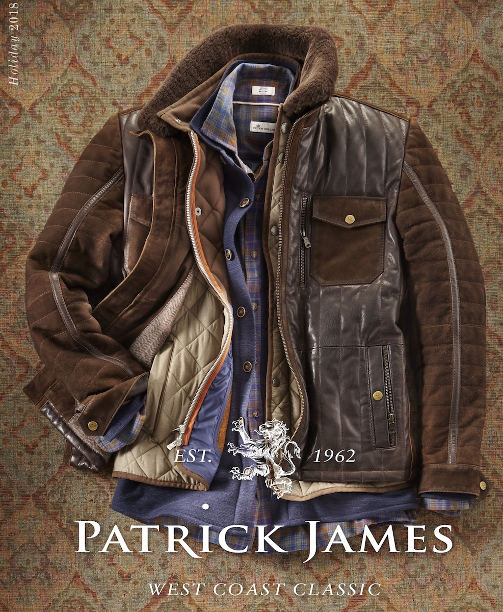 Patrick James: Fashion Lay-down