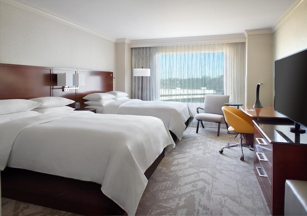 Marriott Hotel - Atlanta, GA: Bed Styling