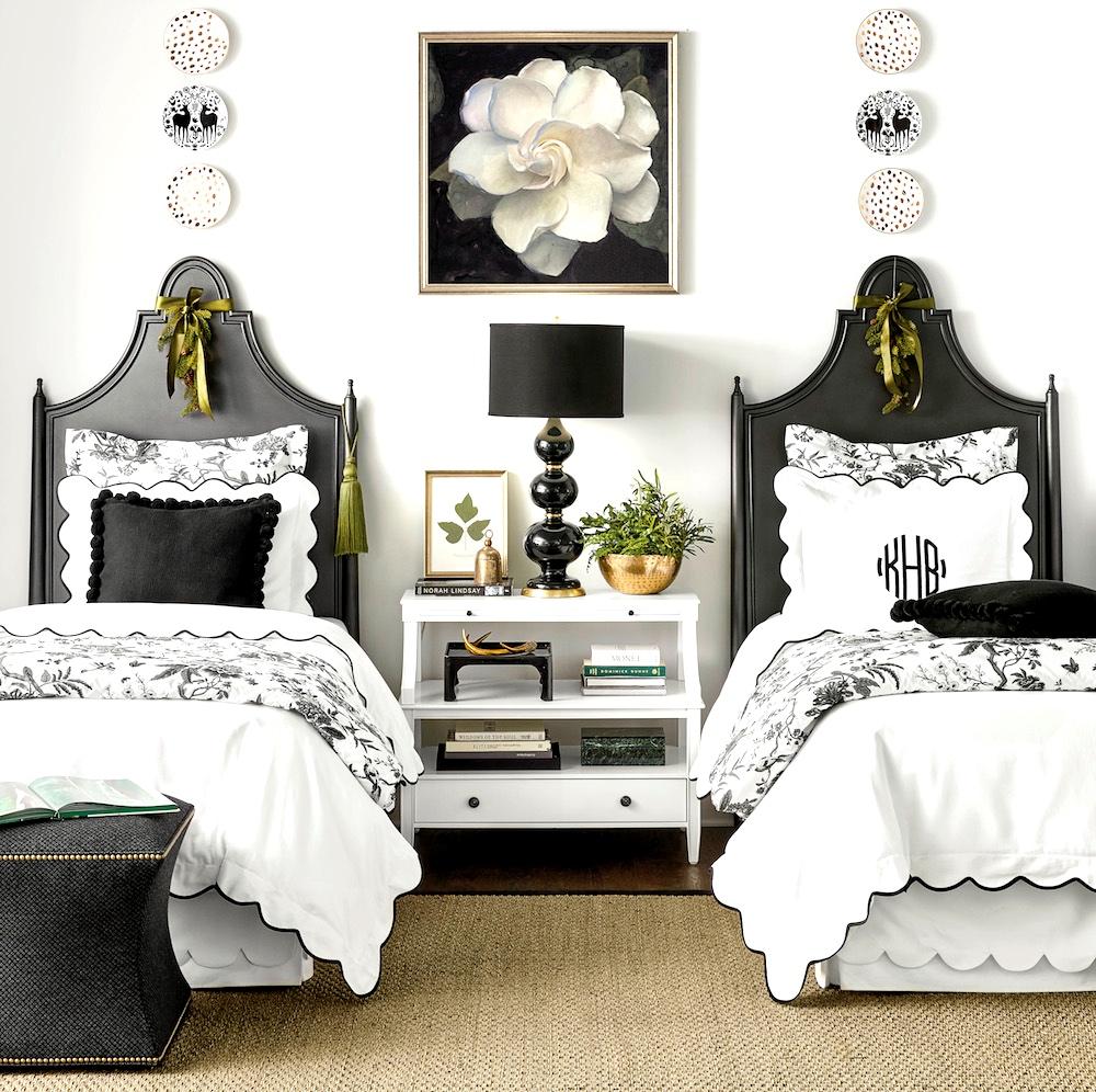 Ballard Designs: Bed Styling/Room