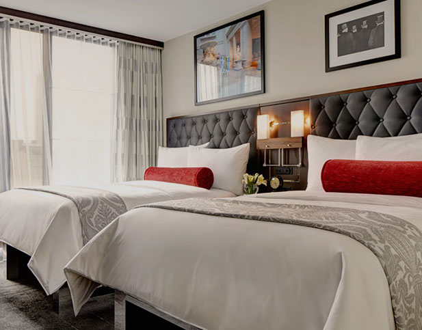 Archer Hotel - New York, NY: Bed Styling