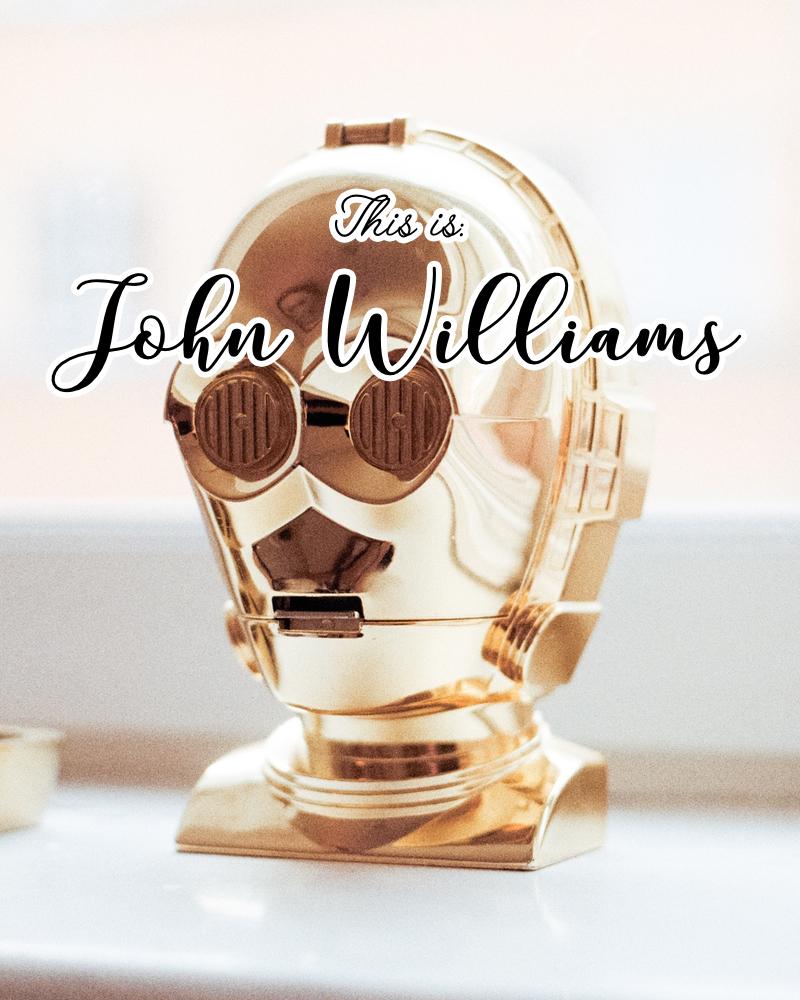 This is: John Williams. (Spotify playlist)