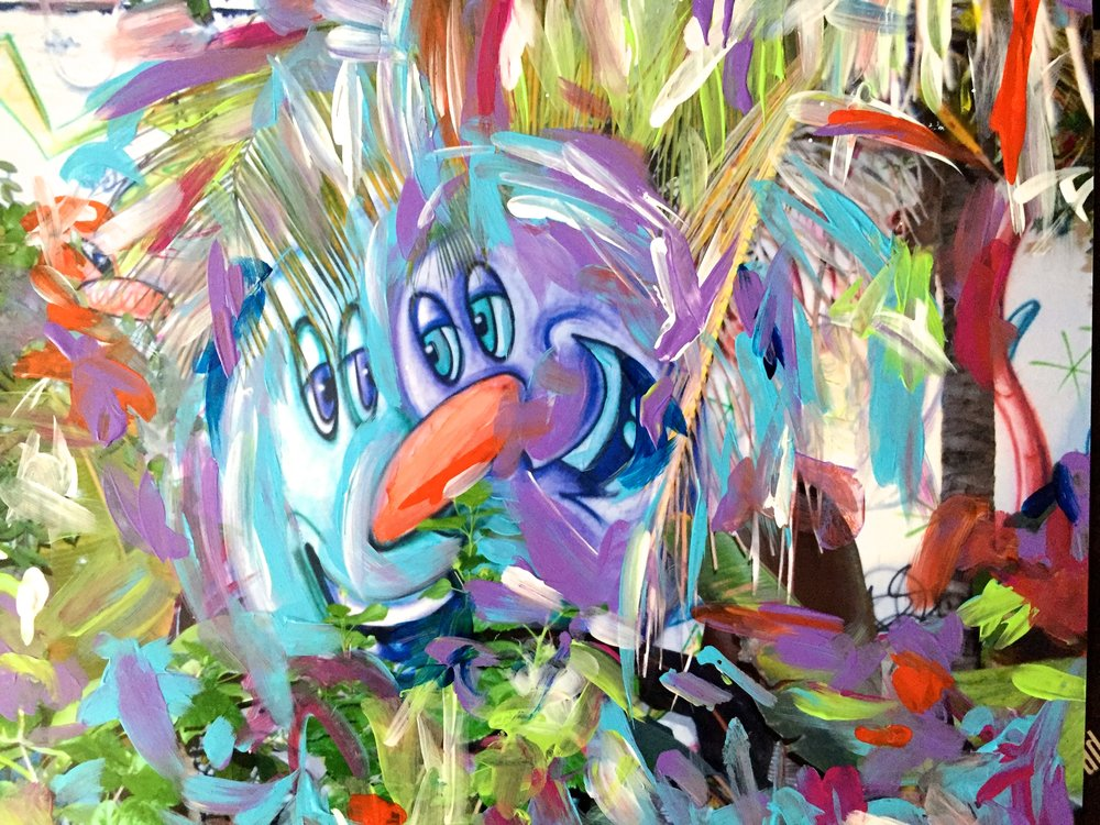 Kenny Scharf (Art Wall)