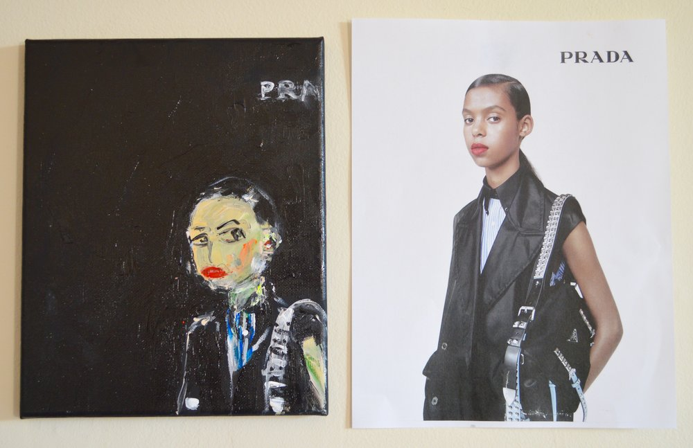 Prada, SS 2018 & Original