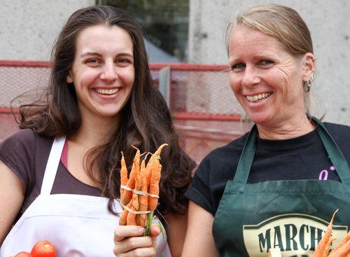 Mac Market Location: Sainte-Anne-de-Bellevue Products: Vegetables and fruits The Mac Market's produce is grown at the Horticulture Centre on Macdonald Campus, where students gain hands-on experience in agriculture.